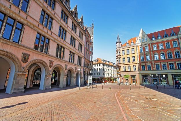 Kulinarische Stadtführung Hannover – Frau in Hannover
