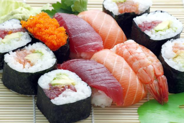 Sushi-Kurs Hannover – verschiedene Sushiröllchen
