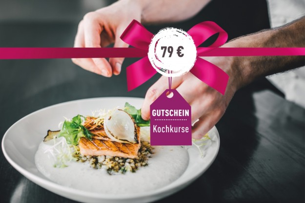 Geschenk-Gutschein-Kochkurs – 79 Euro