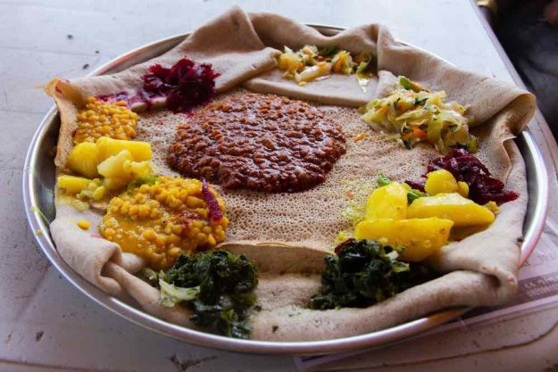 Kochkurs Online afrikanisch Äthiopiens Küche