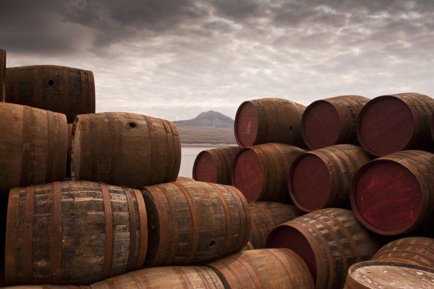 Geschenkgutschein Whisky-Tasting – Whisky-Fässer