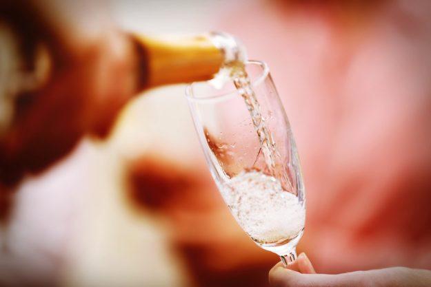 Geschenkgutschein zum Valentinstag – Champagner