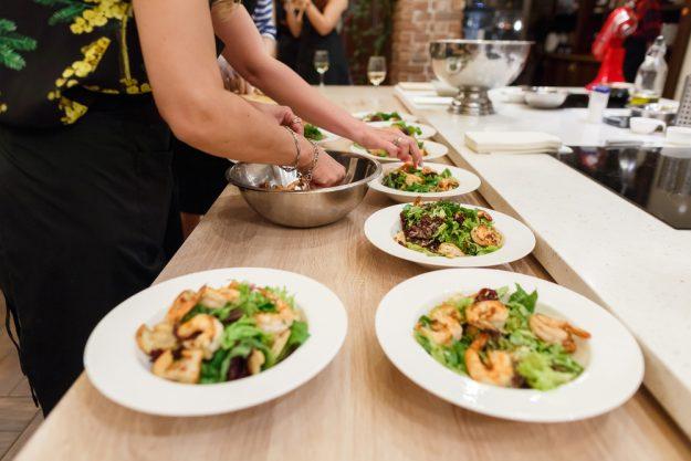 Incentive Hannover – Salat vorbereiten