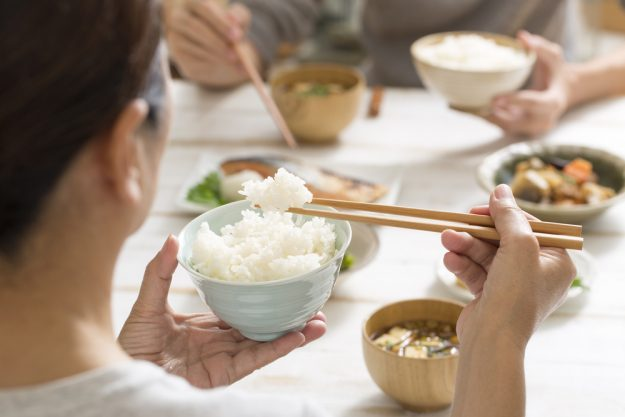 Japan-Kochkurs Hannover – Reis essen