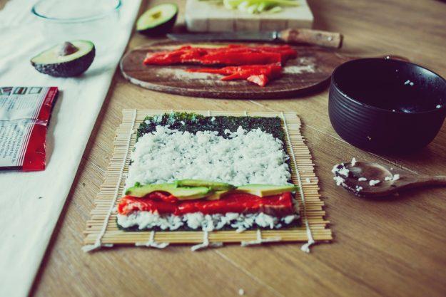 Kulinarische Reise nach Fernost – Sushi selber machen