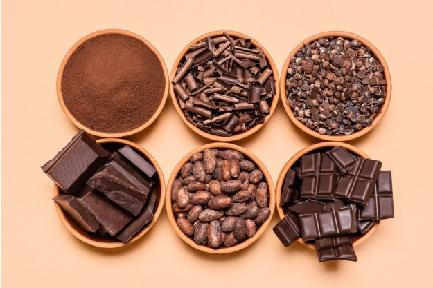 Online-Backkurs-Schokolade Schokolade genießen
