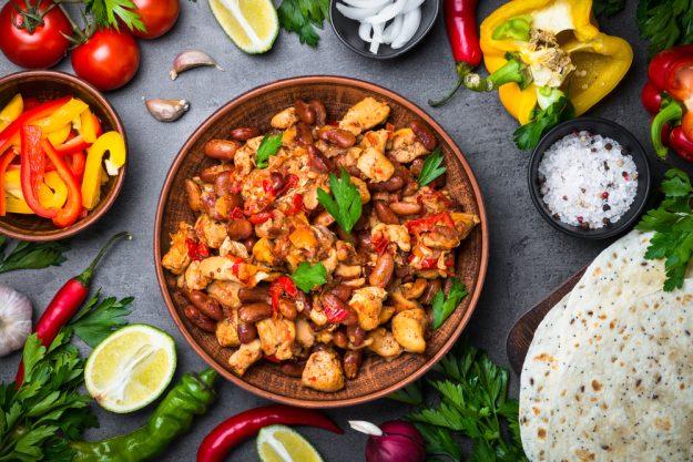 Südamerika-Kochkurs Hannover – Tacos mit Fleisch und Bohnen
