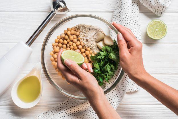 Vegetarischer Kochkurs Hannover – Hummus Zutaten