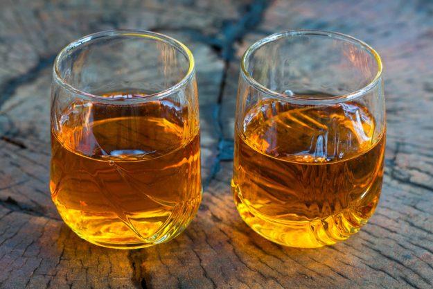 whisky-online-probe Whisky in Gläsern