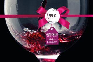 Weinseminar-Gutschein Weinseminar-Gutschein 55€