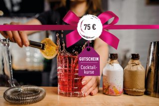 Cocktailkurs-Gutschein Cocktailkurs-Gutschein 75€