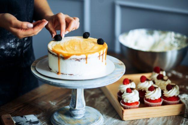 Süße Verführung - Torte dekorieren
