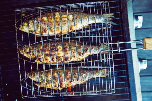 Tag am Meer - Fisch am Grill