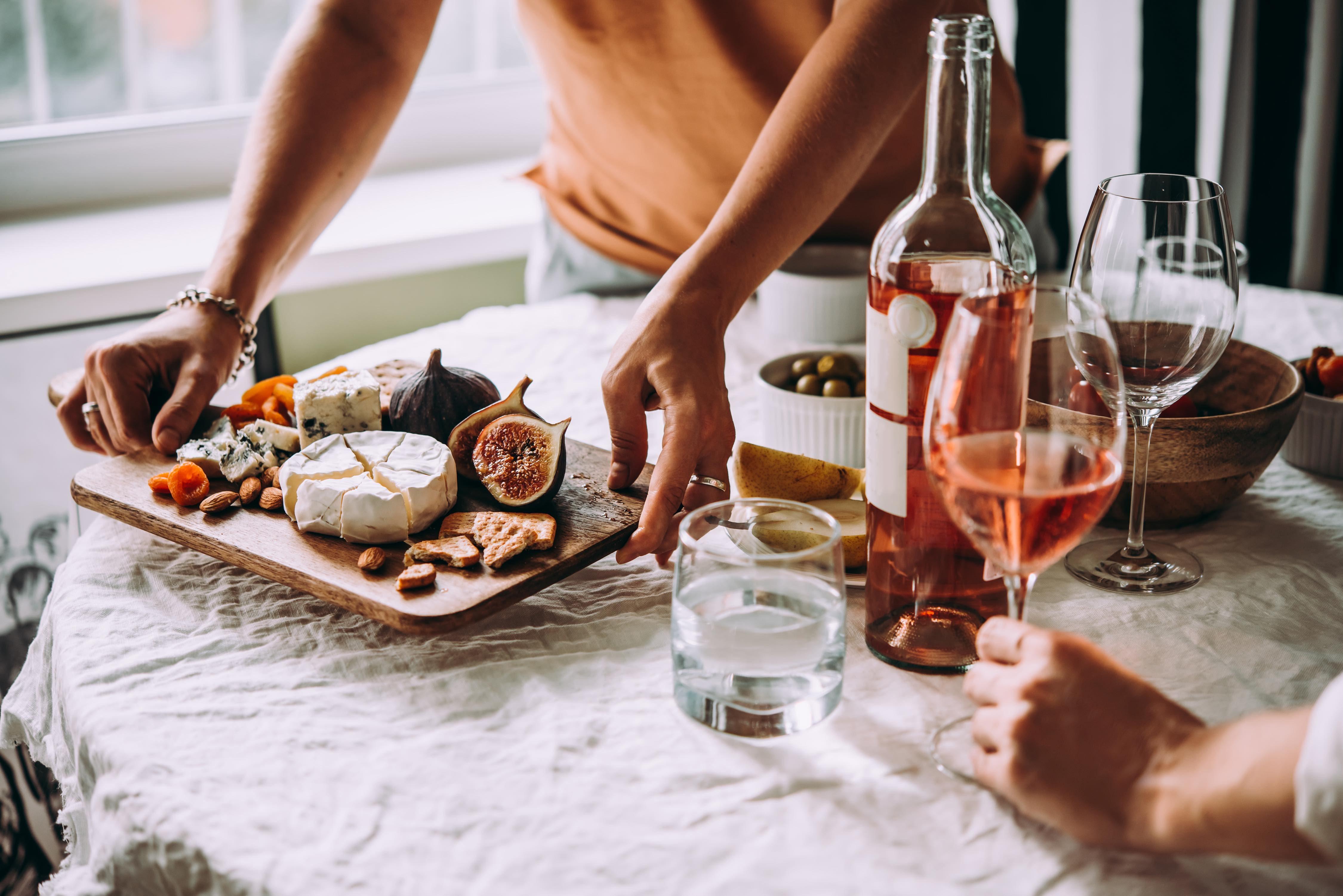 Wein und Käse – besser gehts nicht