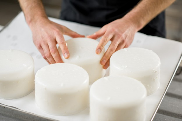 Käse selber machen Dresden – Käse formen