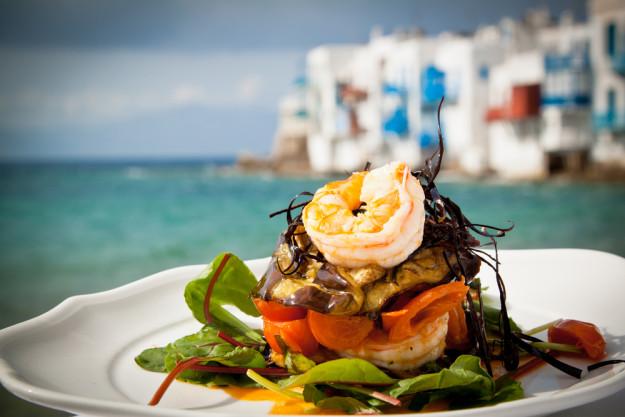 mediterraner Kochkurs Dresden – Jakobsmuschel auf gegrilltem Gemüse