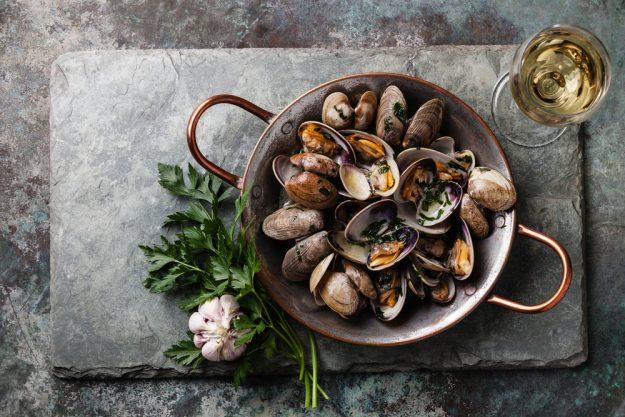 Fisch- und Meeresfruechte-Kochkurs Dresden – Vongole