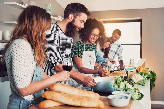 Französischer Kochkurs Dresden – zusammen kochen