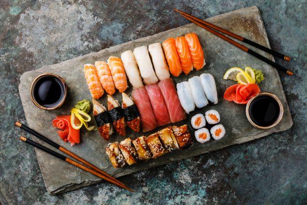 Geschenk-Gutschein-Kochkurs – Sushi-Platte