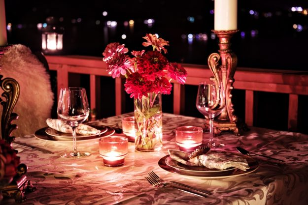 Kleine Aufmerksamkeit – Romantische Dinner