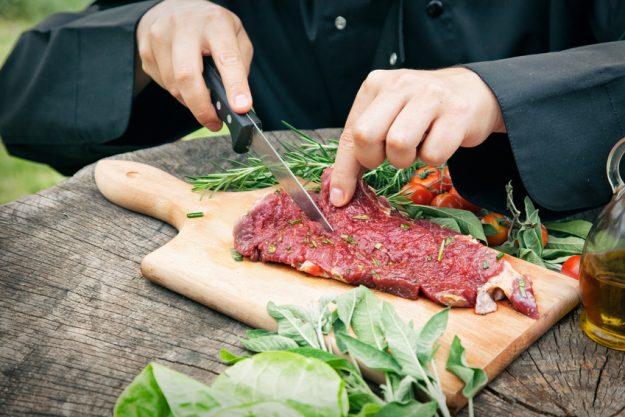 JGA - Grillkurs in Deutschland - Fleischzubereitung