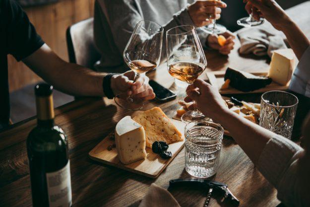 Käse selber machen Dresden – Wein und Käse essen