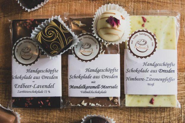Parlinenverkostung@Home –Handgegossene Schokolade