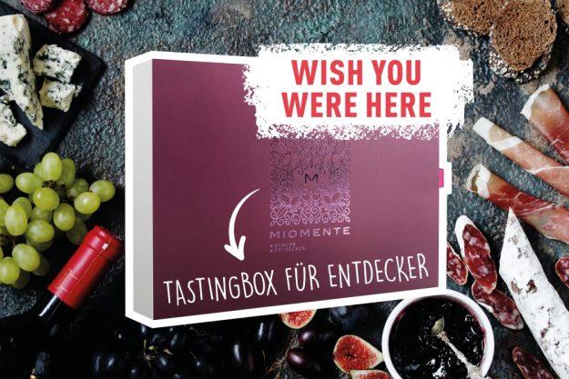 wish you were here – Geschenkbox Online-Events