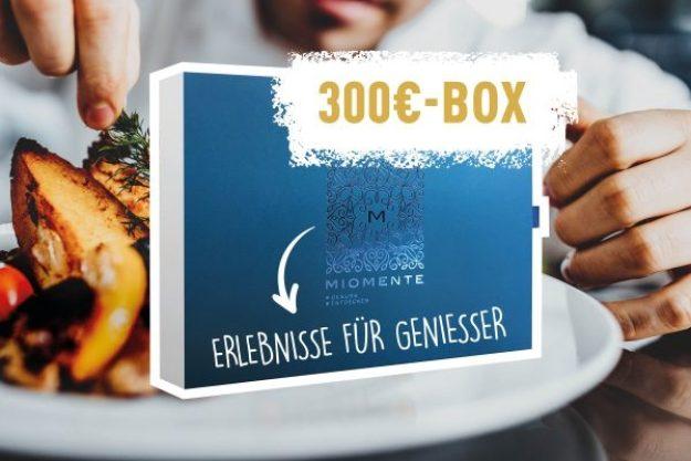 Erlebnis Geschenkgutschein 300 € –Geschenkidee
