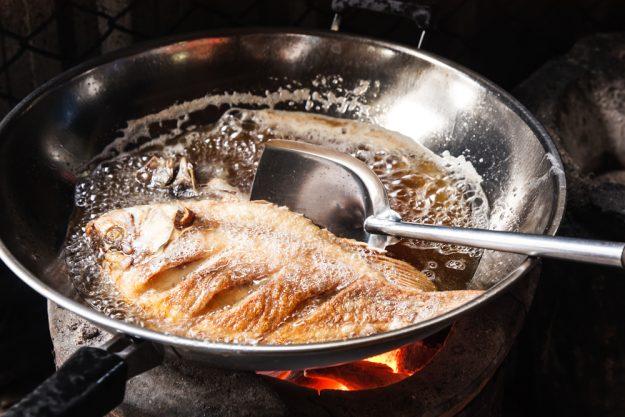 Fisch-Kochkurs Leipzig – Fisch braten