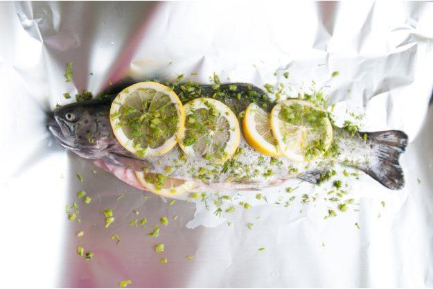 Fisch-Kochkurs Leipzig – Fisch in Alufolie mit Zitrone