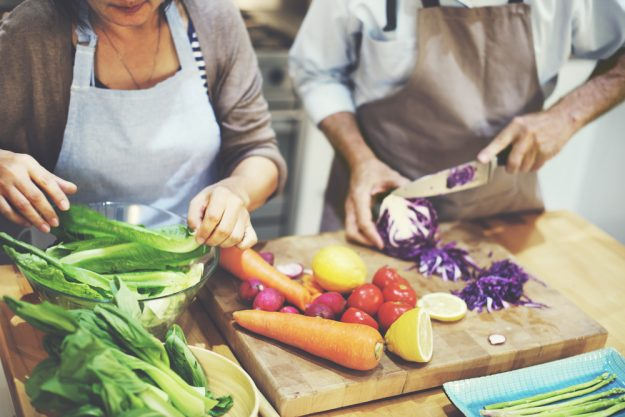 Geschenk-Gutschein-Kochkurs – für Paare