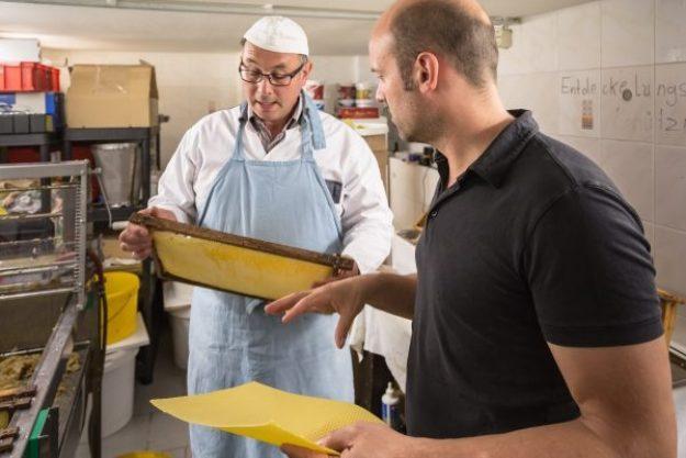 Honig-Verkostung – Herstellung