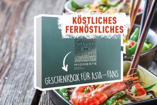 Geschenkidee Asienfan Köstliches Fernöstliches