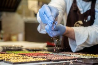 Schokoladenkurs online Schokolade selbst machen@Home große Box