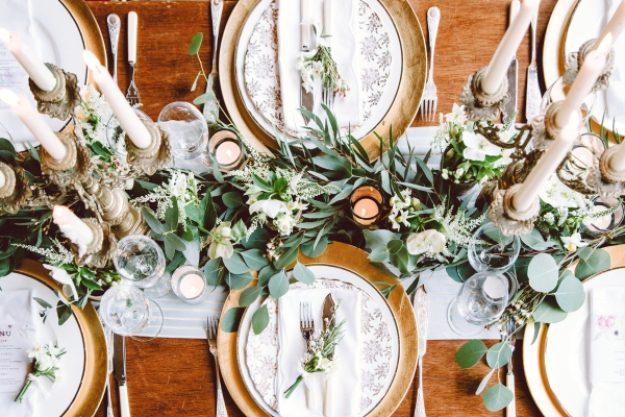 Geschenkgutschein zur Hochzeit – Tisch-Deko