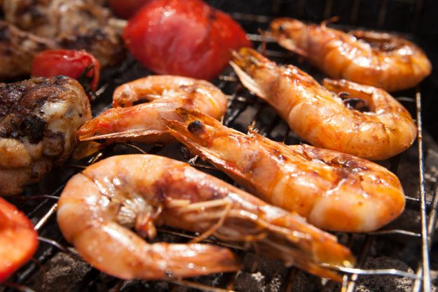 Basis-Grillkurs Wuppertal – Scampi