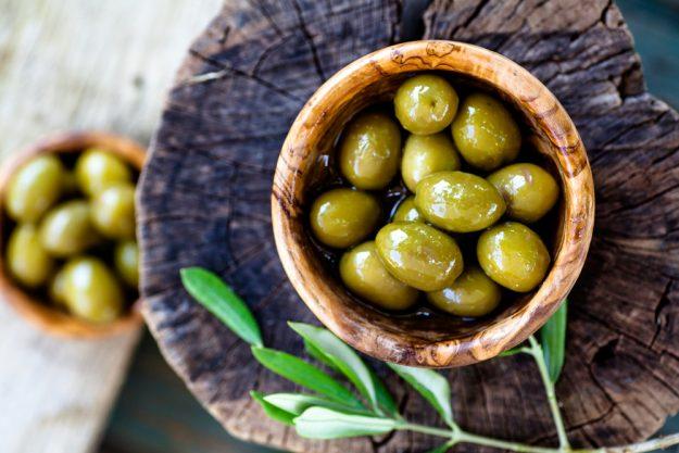 Kochkurs in Wuppertal – grüne Oliven
