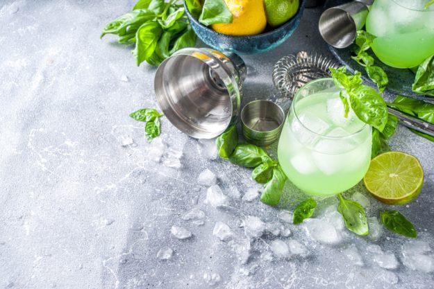 Box für online Events Cocktails machen