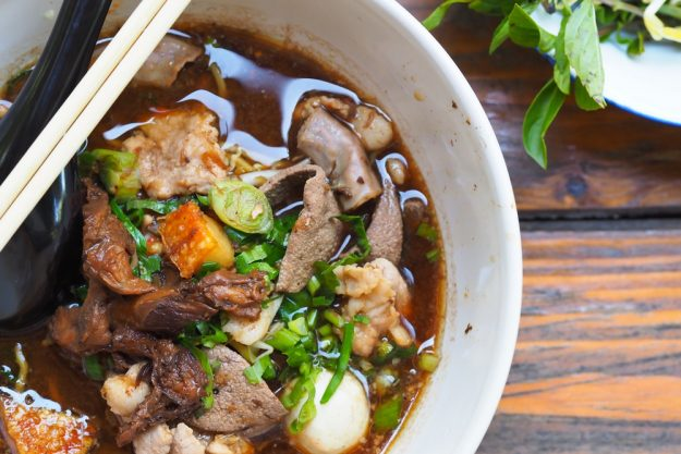 Thai-Kochkurs Wuppertal – Thai Nudel Suppe