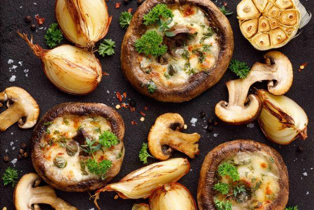 vegetarischer-kochkurs-wuppertal-überbackene-Pilze