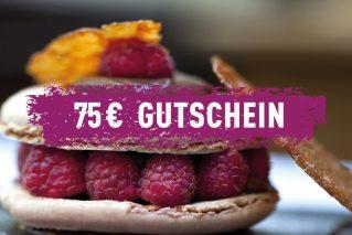 Erlebnis-Geschenk-Gutschein 75 € Geschenkgutschein
