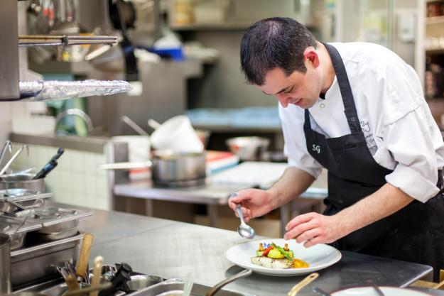 Firmenevent in der Küche