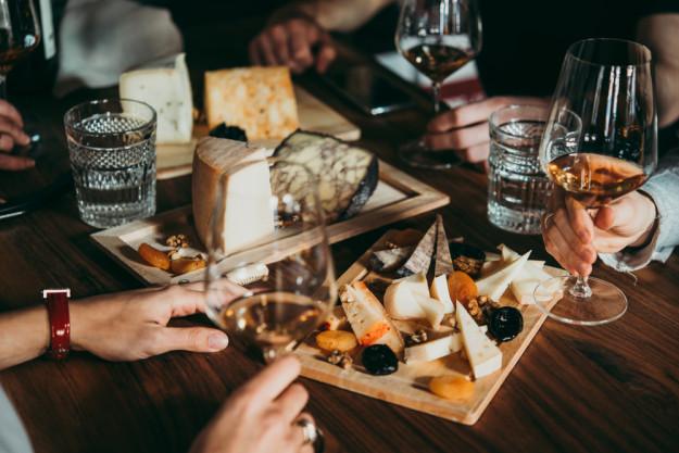 Weinseminar München - Feigen, Trauben und Käse
