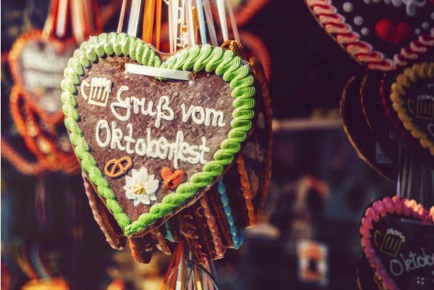 Wiesngrillen - Lebkuchenherz vom Oktoberfest