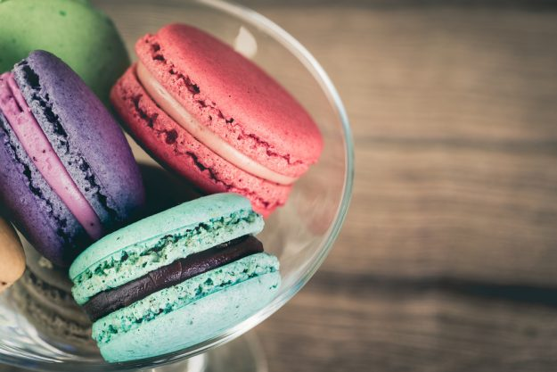 Backkurs München - Macarons im Glas