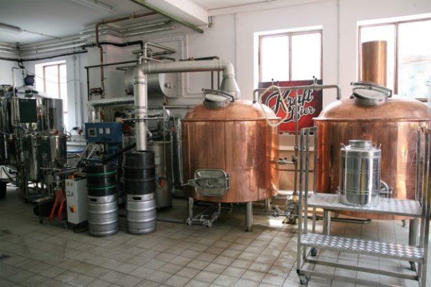 Braukurs München - Bierkessel