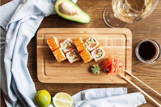 Champagner-Seminar in München – Sushi und Champagner perfektes Paar