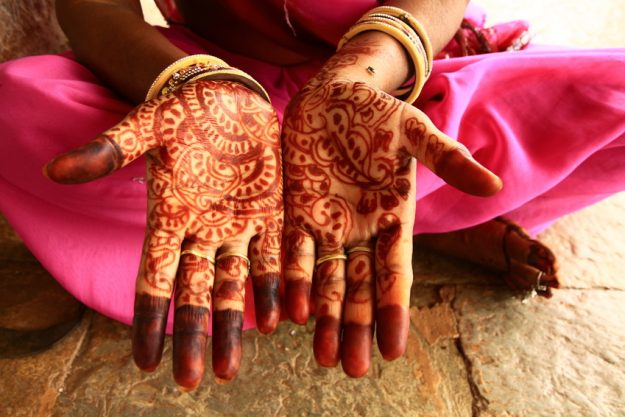 Indian Cooking Class Munich  - Henna Hände
