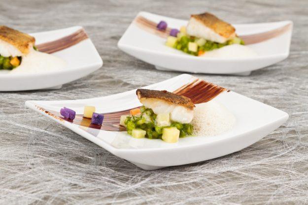 Firmenevent in der Küche - Fisch Vorspeise